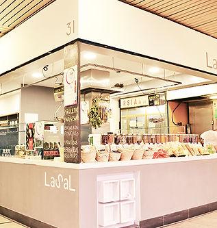 Proyecto Diseño Interior Bruto Puesto de Mercado Madrid España