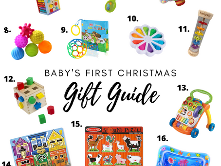 20 Gift Ideas for Babies (0-12 M)
