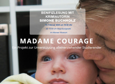 "Benefiz-Lesung für ZONTA Projekt ""Madame Courage"""