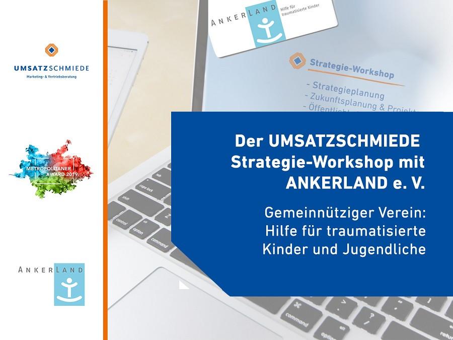 Ankerland Therapiezentrum traumatisierte Kinder Jugendliche UMSATZSCHMIEDE Hamburg Strategieworkshop SEO Oeffentlichkeitsarbeit Fundraising