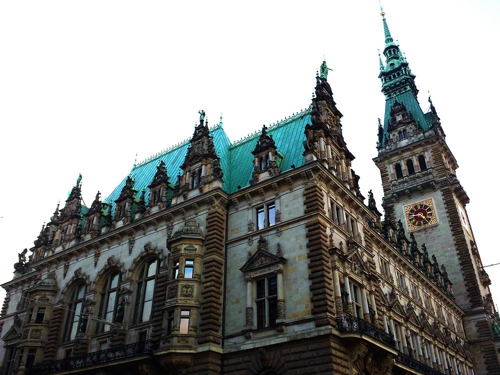 Rathaus Hamburg Bürgertag 2019 live Christine Witthöft UMSATZSCHMIEDE Marketingberatung Vertriebsberatung