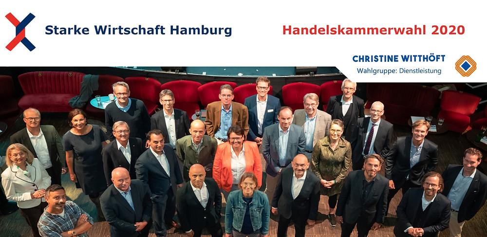 Starke Wirtschaft Hamburg Handelskammerwahl Kandidatur 2020 UMSATZSCHMIEDE Marketingberatung Christine Witthöft