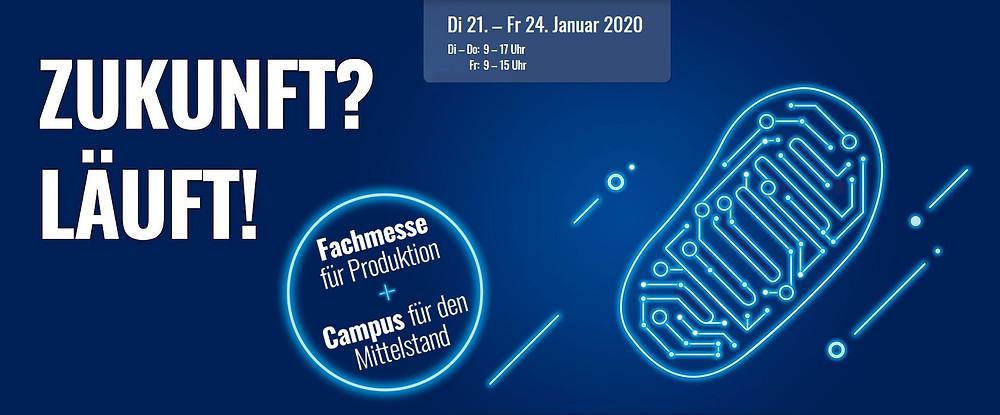 NORTEC Messe 2020 Zukunft Läuft Fachmesse Produktion Mittelstand UMSATZSCHMIEDE Christine Witthöft Marketingberatung Vertriebsberatung Hamburg