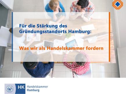 Was wir am Gründungsstandort Hamburg verbessern können – Forderungen des Handelskammer Plenums