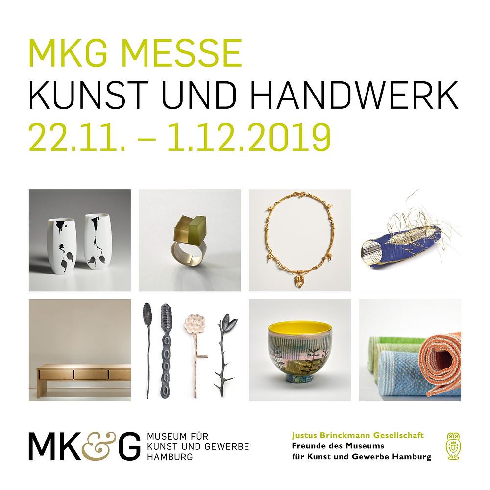 MKG-Messe Kunst und Handwerk Museum für Kunst und Gewerbe Justus Brinckmann Gesellschaft Hamburg Christine Witthöft UMSATZSCHMIEDE