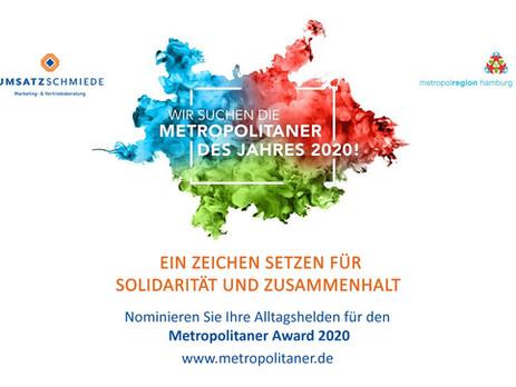 Machen Sie mit und nominieren Sie Ihren Alltagshelden – Metropolitaner Award 2020