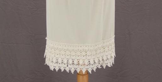Ivory Skirt/ Dress Extender