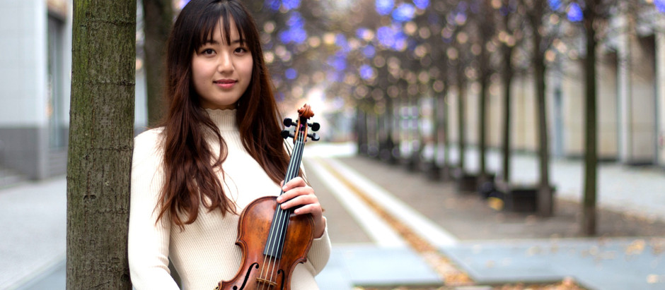 The New Artist Violinist Songha Choi
