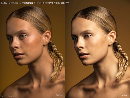 Retouching isn't all about flawless skin