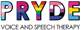 PRYDE VOICE AND SPEECH THERAPY LOGO