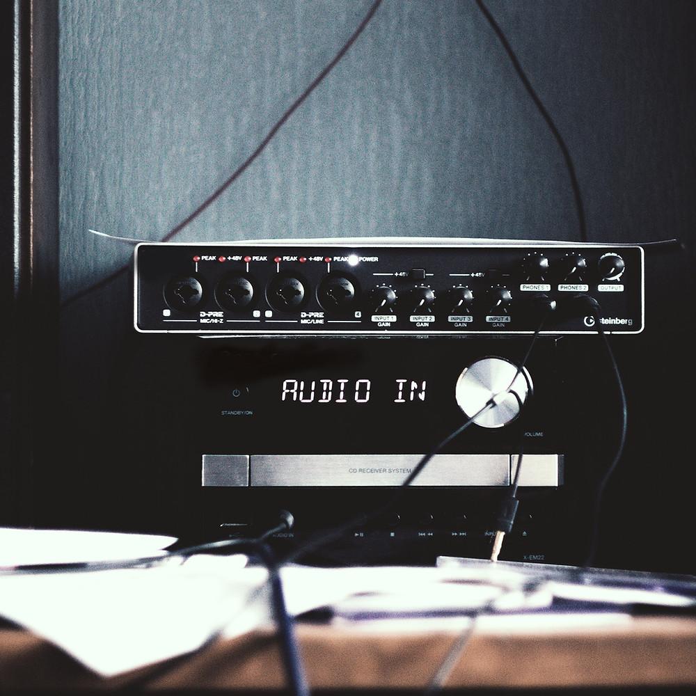 Illustration: Audio Equipment (Image credit: Wix)