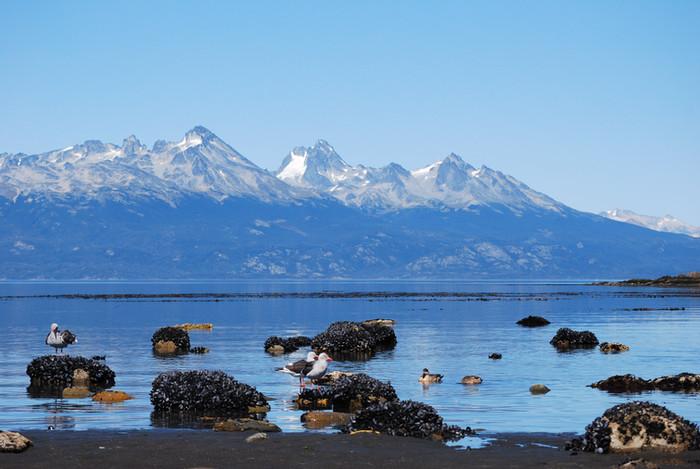Verão de verdade em Ushuaia