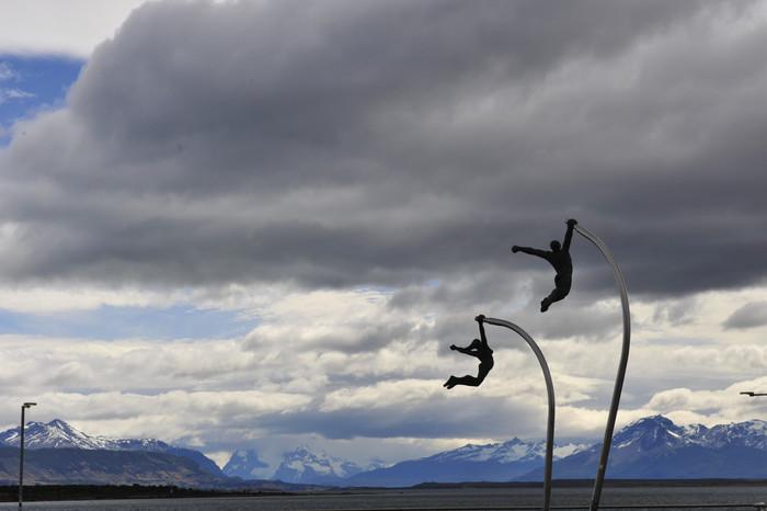 A caminho de Torres del Paine