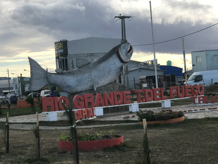 De volta a território argentino - Rio Grande