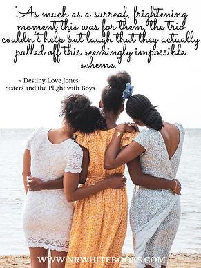 Poster 2 - Destiny Love Jones - Sisters