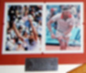 Grand Slam Showcase Tennis Memorabilia Roland Garros 1978 1979 Borg Vilas Pecci