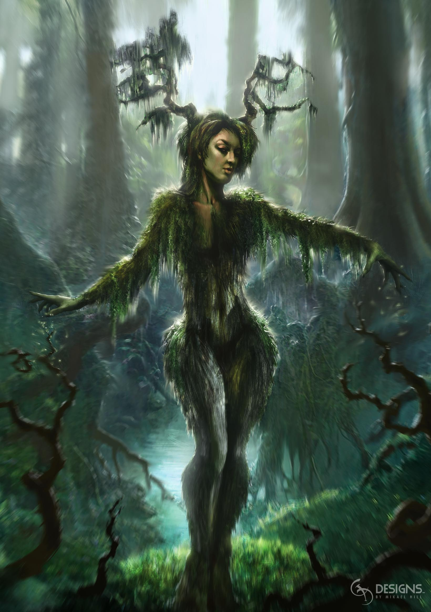 Moss Woman  © Muti Labs