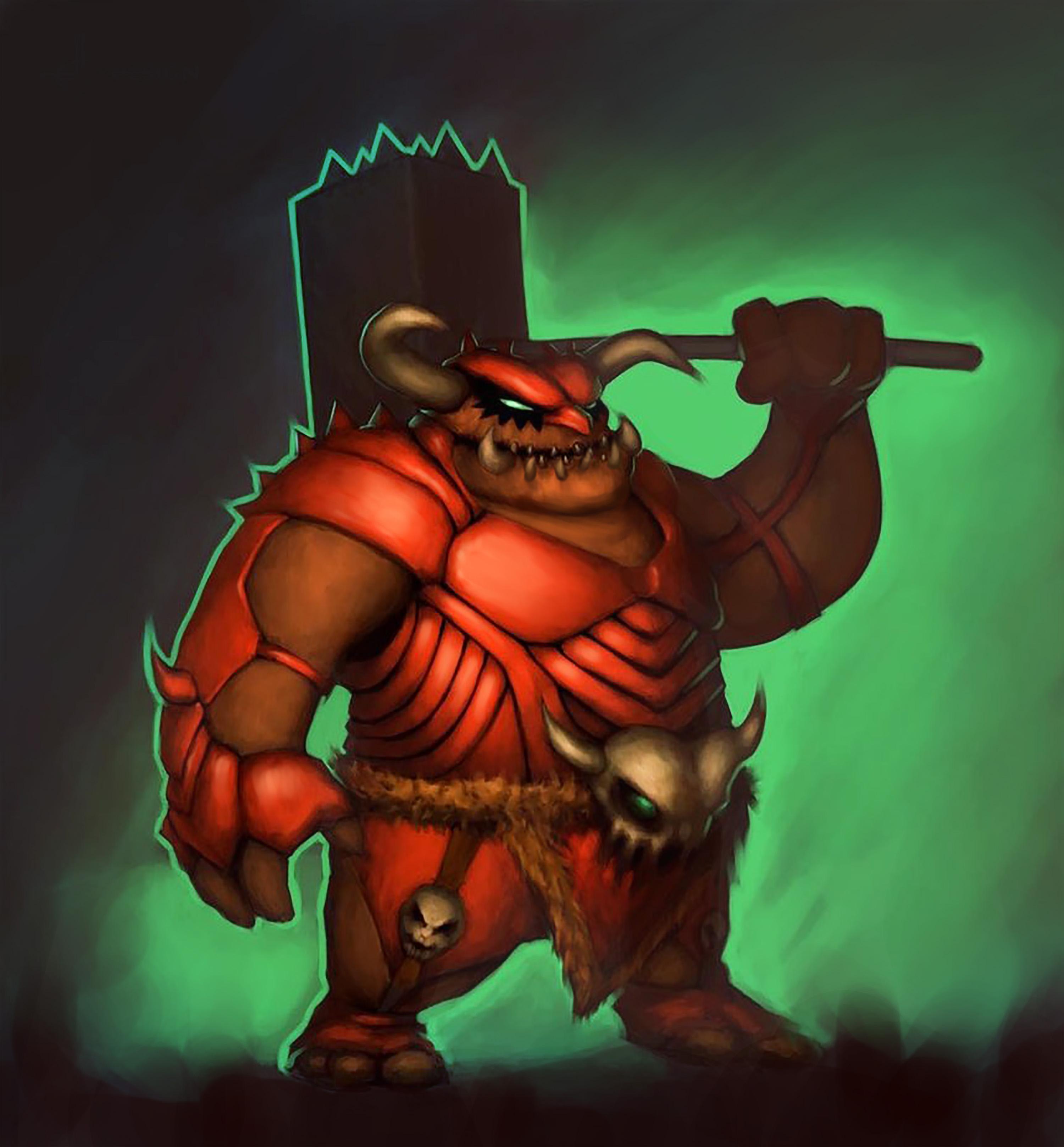 Ogre Guardian Concept