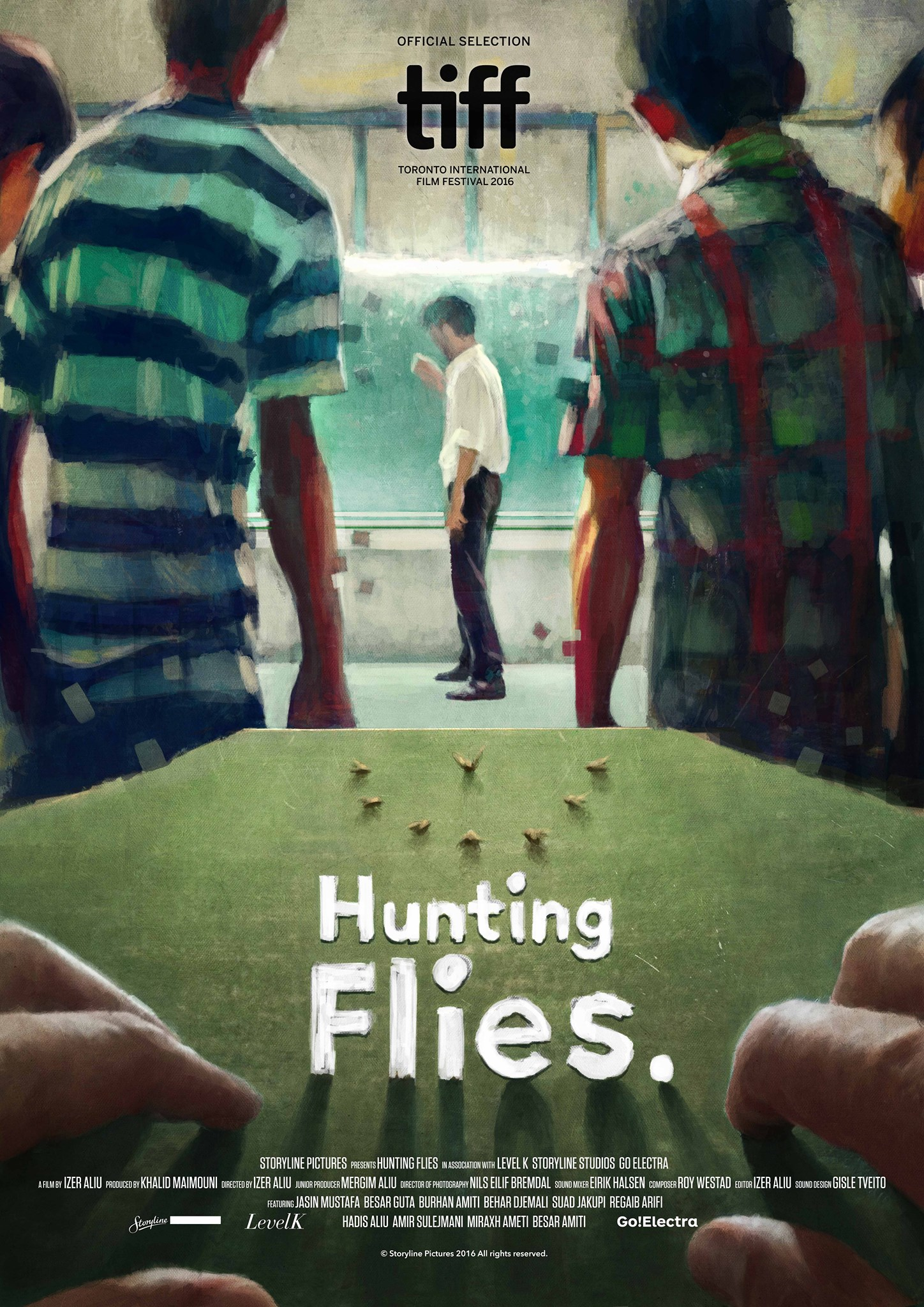 Hunting Flies Poster