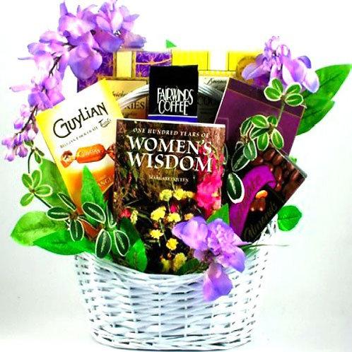 To A Wonderful Woman, Gift Basket