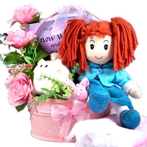 Little Girls Sugar and Spice Gift Basket; Cute As Can Be