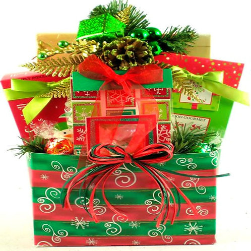Deck The Halls Gift Tote