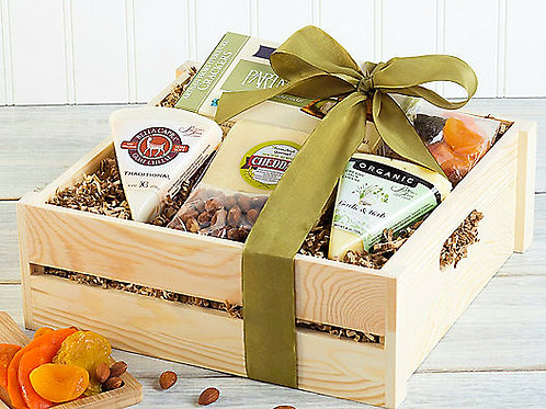 Classic Cheese, Freshly Roasted Nuts and Dried Fruit