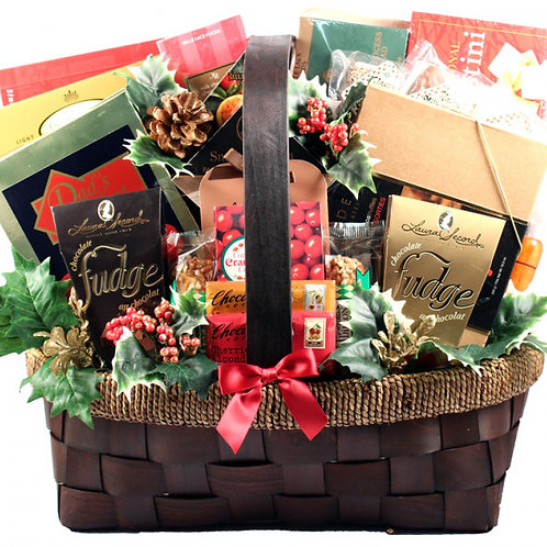 The GRAND FINALE, Extra Large Holiday Gift Basket