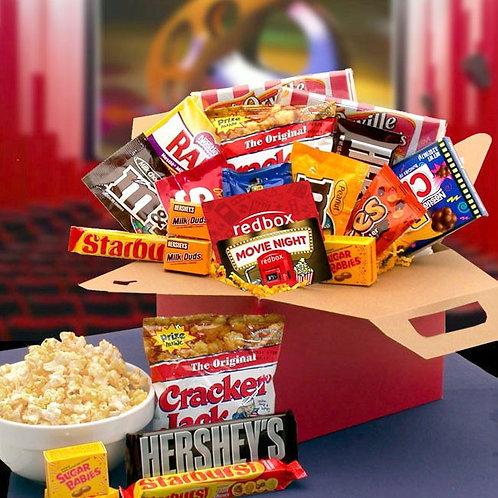 Movie Marathon Snack Gift Set, Perfect Gift for Movie Buffs