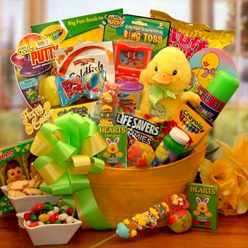Easter Treats and Fun Gift Pail
