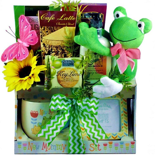New Mama Gift Basket! Perfect Gift For A Brand New Mom