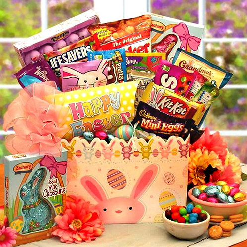 Easter Bunny Hip Hops Gift Box