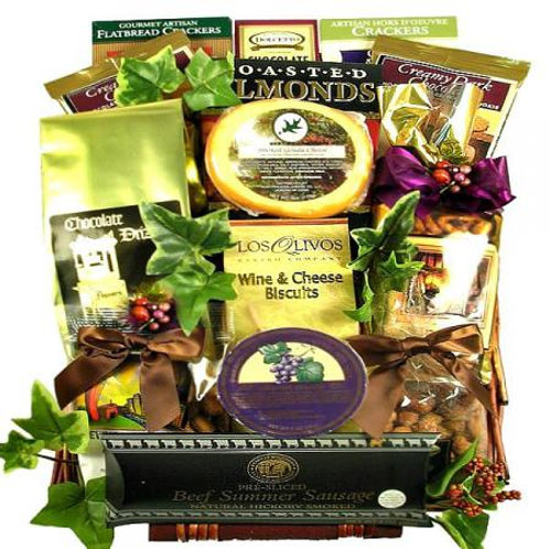 The Elegant Executive Gourmet Food Gift Basket