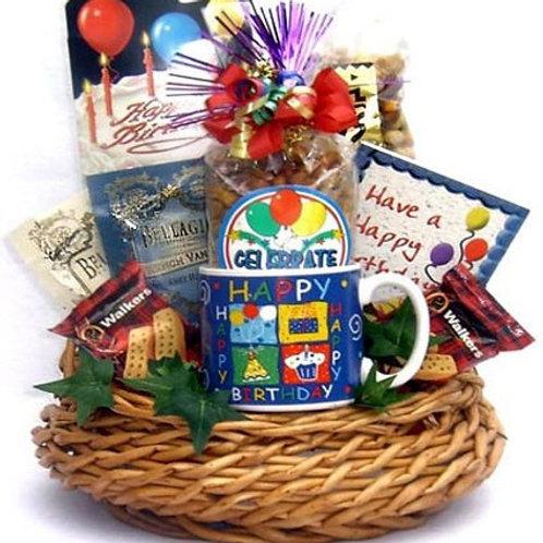 Birthday Bash Birthday Gift Basket