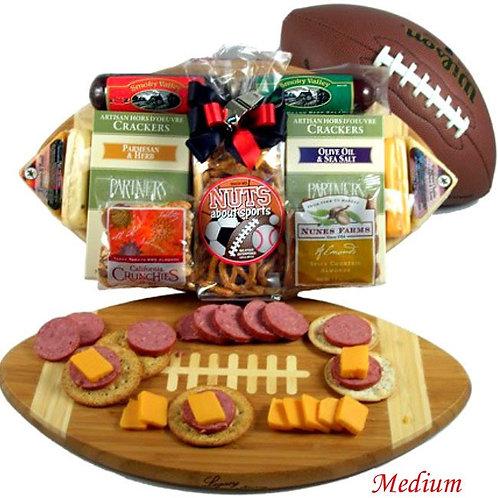 Halftime Snacks, Football Fan Gift Basket