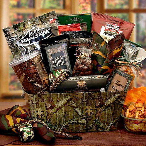Hunting Fanatic, Gift Basket for Hunters