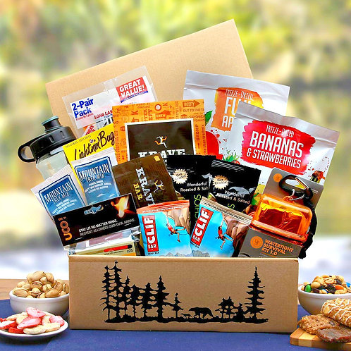 Wilderness Lovers, Outdoor Survival Gift Box