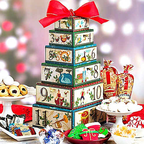 12 Days of Christmas Gift Tower