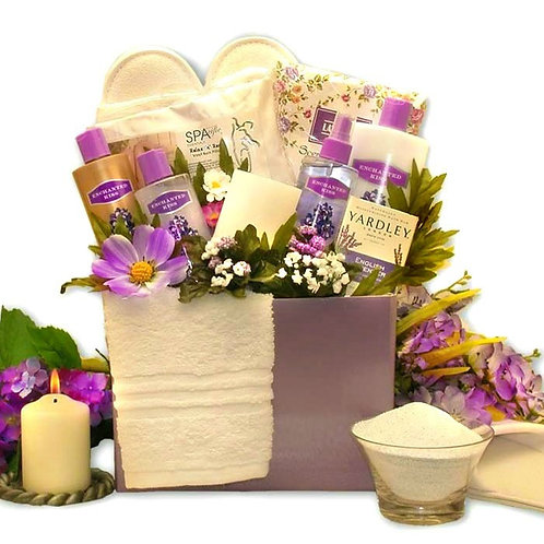 The Relaxation Gift Box, Soothing Pamper Spa Product For Hers