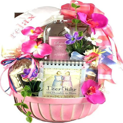 Dear Sis, Gift Basket For Sisters
