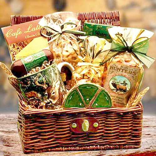 Hunter's Retreat, Gift Basket For Serious Hunters