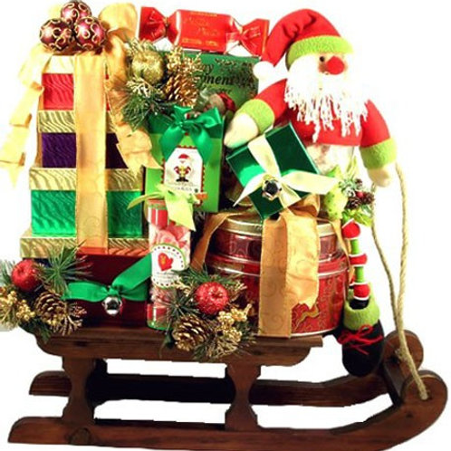 Santa Claus Lane Gift Basket