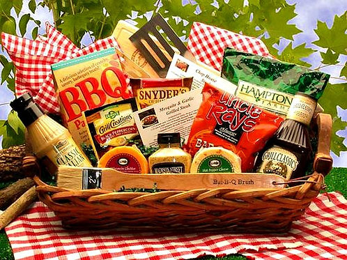 Grill King Barbecue Gift Basket Feast With Grilling Tools