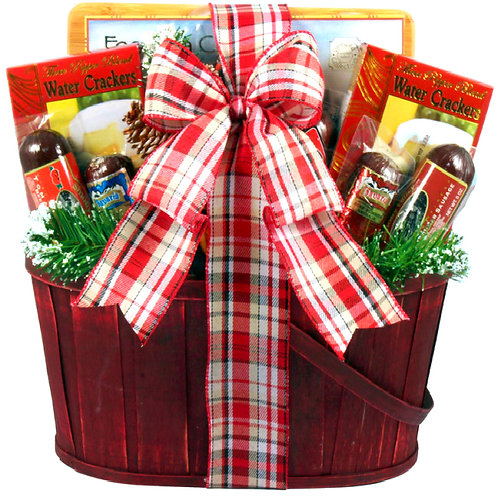 Perfect Gourmet Gift Basket For Meat Lovers