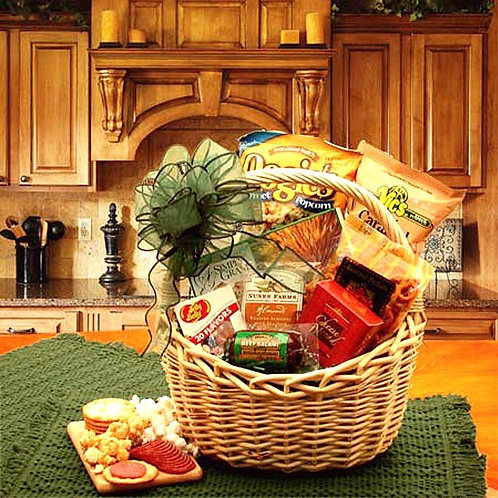 A Snackers Favorite Food Gift Basket