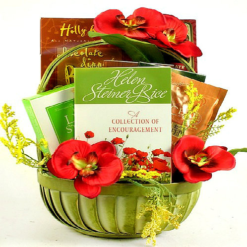 An Uplifting Gift Basket to Offer Encouragement In Tough Times