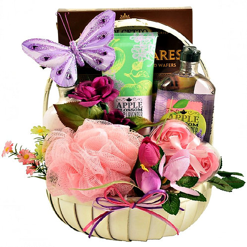 Pampering Aromatherapy Relaxation Gift Basket