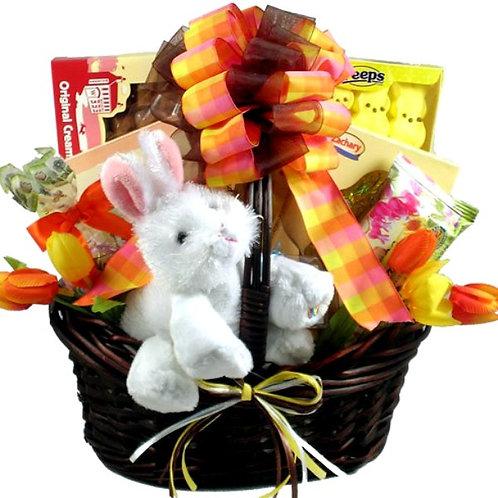 Happy Easter Bunny Gift Basket