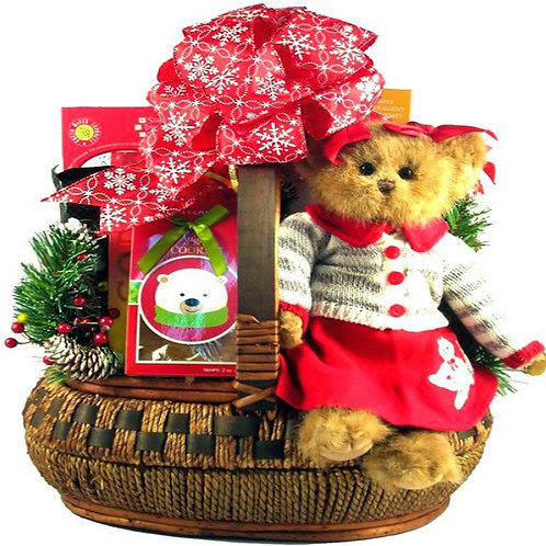 Cindy Socks Christmas Gift Basket