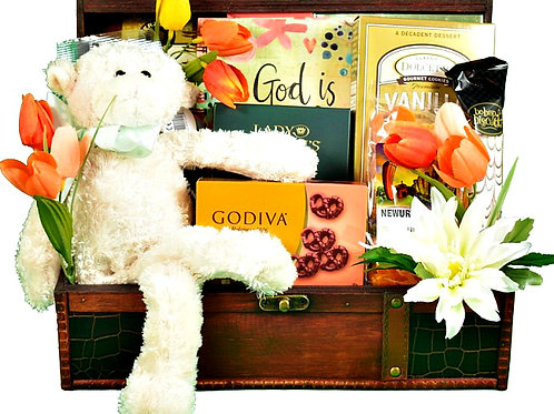Sweet Blessings Christian Gift Basket for Any Occasion